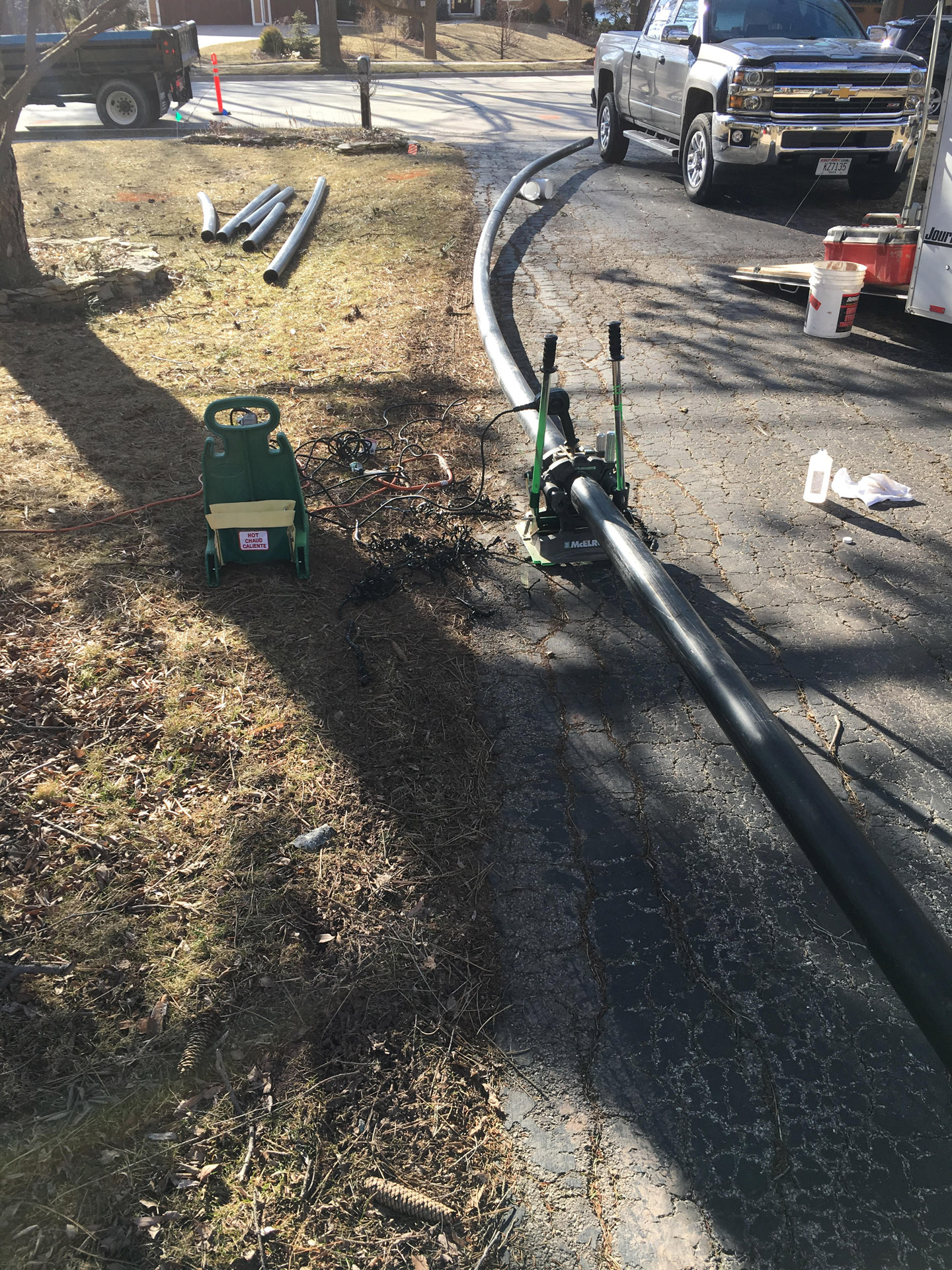 Trenchless Sewer Pipe Installation